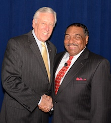 Steny Hoyer and Paul Berry
